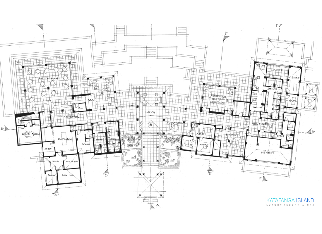 Main Building - Plan View